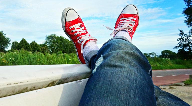 zweetgeur uit schoenen
