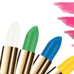 Groene lippenstift wordt roze met de Lipstick Excellent
