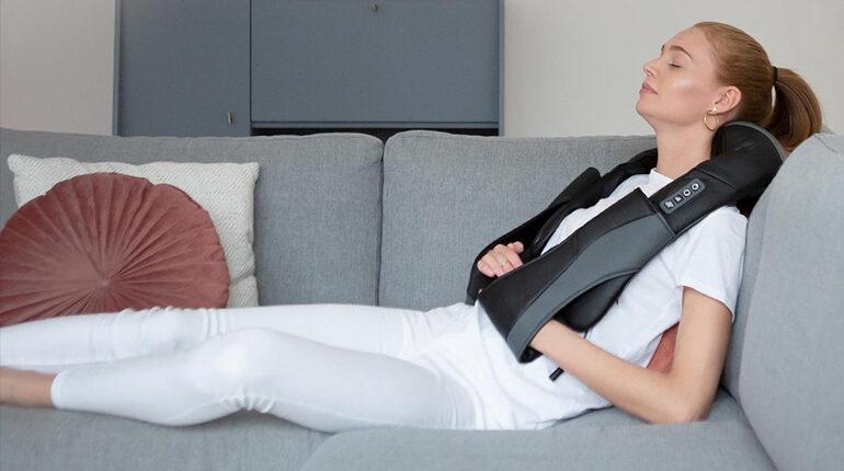 hoofdpijn vanuit nek massage