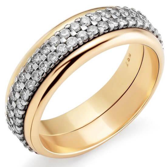 Trouwring goud en zilver