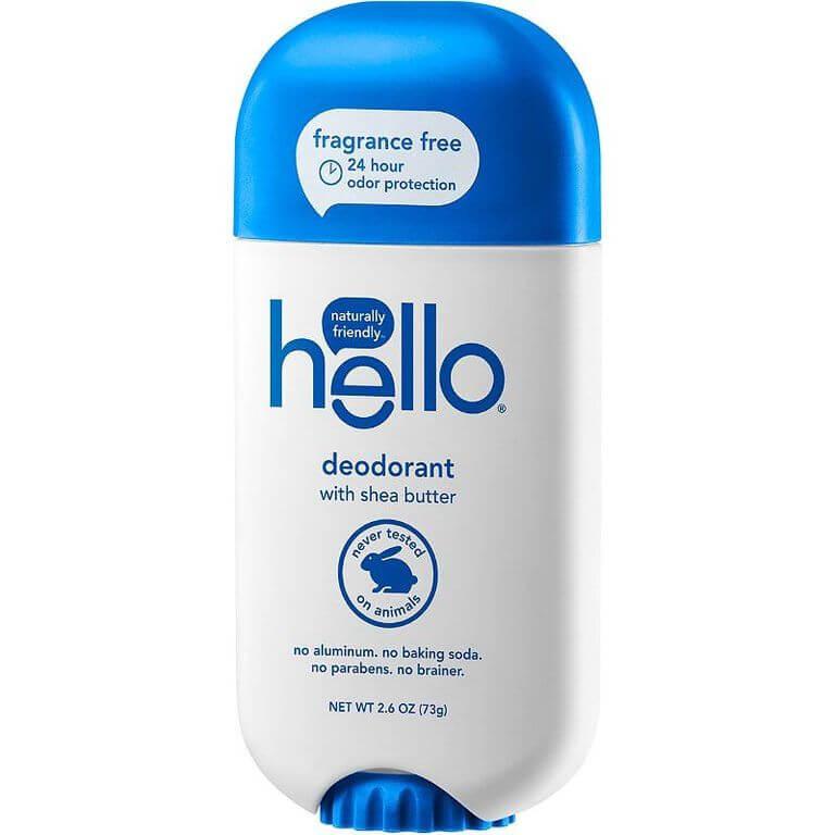 beste deodorant gevoelige huid