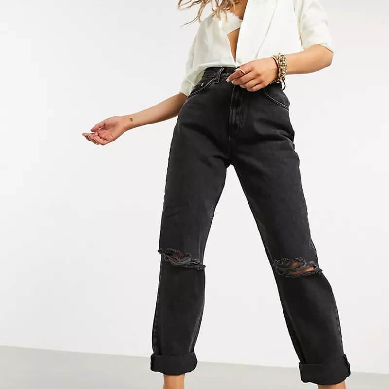 beste high waist jeans