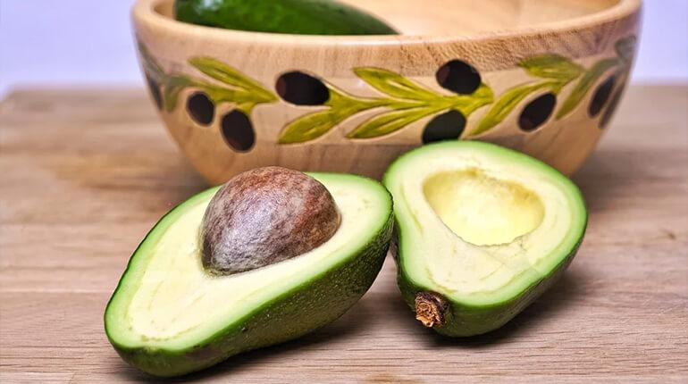 avocado olie voor de huid