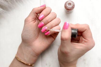 glitter nagellak verwijderen