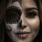 Gezicht schminken Halloween